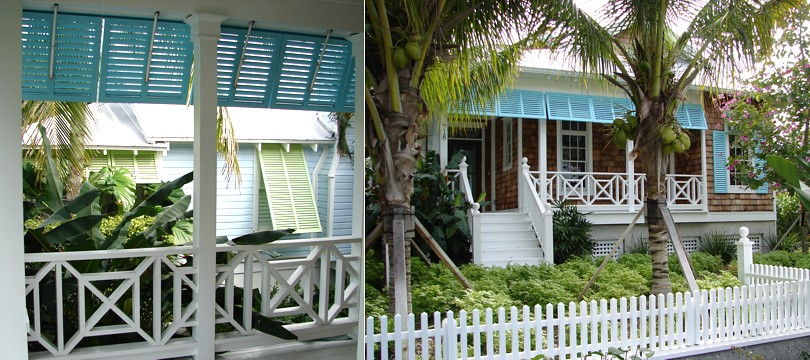 Exterior aluminium bahama and colonial shutters