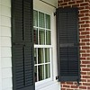 Exterior synthetic shutters